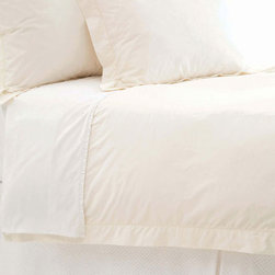 Pine Cone Hill - classic hemstitch duvet cover (ivory) - This item comes in��ivory.��This item size is��various sizes.