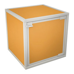 Box Storage Cube, Orange