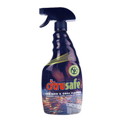 Bryson - Bryson  Kitchen Non-Toxic Citrusafe Bbq Grid And Grill Cleaner - 4 Pack - Unique formula instantly dissolves soot buildup from vented log set.Simply preheat logs and apply while logs are still burningNon-Toxic, non-corrosive, non-flammable, and biodegradable. Powerful on grime. Safe and simple method of cleaning your grills cooking grids . Citrus cleaner, natures natural resource . Safe for your family. Earth Friendly . Biodegradable, non flammable, non corrosive, non toxic, phosphate free . 23 fl oz spray bottle .