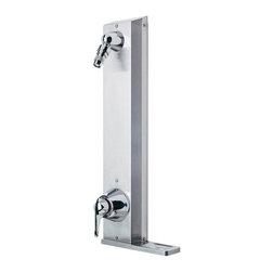 Symmons - Symmons Hydapipe Single Handle 1-Spray Shower Faucet, Chrome (1-901S) - Symmons 1-901S Hydapipe Single Handle 1-Spray Shower Faucet, Chrome