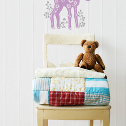 In The Meadow Deer Vinyl Wall Decal - Oh deer! We're so in love with our In The Meadow Deer Vinyl Wall Decal from Wallternatives. This folk inspired fawn goes great in any nursery or kids room.