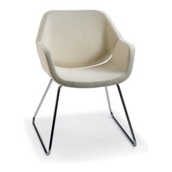 Artifort Gap Chair - Great lines and style - what a beautiful chair which would look so fantasic around a modern table. Super comfortable as well, which isn't always a guarantee with modern furniture designs. These are the kind of chairs I'd love to have a vintage industrial dining table.