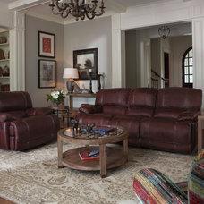 1250-62 Flexsteel Belmont Group Double Reclining Sofa
