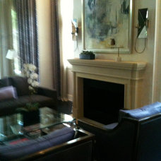 Modern Living Room by CMR Interiors & Design Consultations Inc.