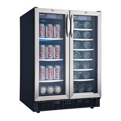 this high-capacity cooler. A crisp modern design with black cabinet ...