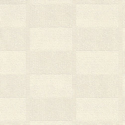 Romosa Wallcoverings - Relaxing Cream Textured Geometric Media Wallpaper - -  Adhesive to Wallcovering. Super Washable. Good Light Fastness. Peelable.