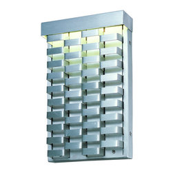 Maxim - Maxim 88293 Weave 1 Light Outdoor Wall Sconce - Product Features: