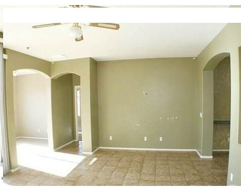 3 large open rooms adjoin/ wall colors would work with multi ...
