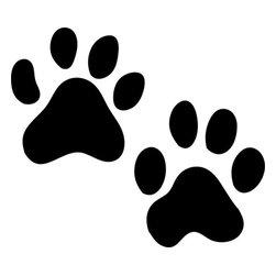 Stencil Ease - Tiger Animal Tracks Stencil - Tiger Animal Tracks Stencil - BASIC Stencils Collection