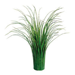 Silk Plants Direct - Silk Plants Direct Grass Bush Stand (Pack of 6) - Silk Plants Direct specializes in manufacturing, design and supply of the most life-like, premium quality artificial plants, trees, flowers, arrangements, topiaries and containers for home, office and commercial use. Our Grass Bush Stand includes the following: