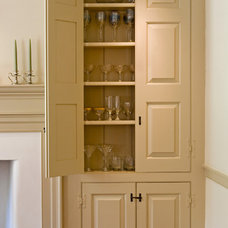 Traditional Storage Units And Cabinets by Fredendall Building Company