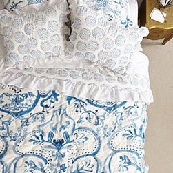 Anthropologie - Tindari Quilt - Cotton Dry cleanImported