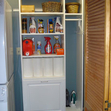Traditional Laundry Room by ClosetScapes, LLC