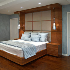 Contemporary Beds by Heather and Fred Studios