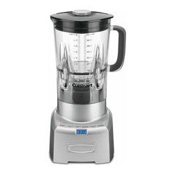Cuisinart - Cuisinart CBT-1000 PowerEdge Die-cast Blender - This Cuisinart blender's Power6 TurboEdge design creates a strong vortex for thoroughly blended ingredients, while the automatic pre-set programs combine timed pauses with bursts of power for excellent results. A 64-ounce jar is included with the blender.