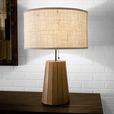 Eclectic Table Lamps by Uhuru Design