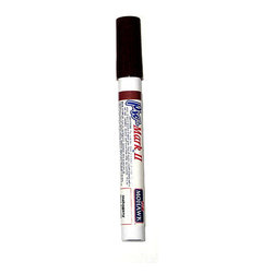Mohawk Pro-Mark II Touch-Up Marker - Black Brown - Can be used at any angle, including upside down.   Provides the highest rated lightfast dyes for complete clarity and color retention.   Adheres well to most surfaces and is resistant to polishes