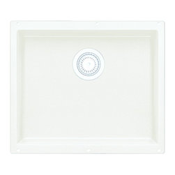 Blanco - Undermount Large Bowl Kitchen Sink - 440141 - Finish: White