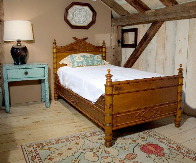 Traditional Beds by Leonards Antiques