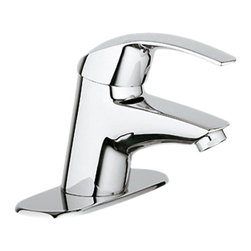 Grohe - Grohe 32710001 Lavatory Centerset Less Drain In Starlight Chrome - Grohe 32710001 from the Eurosmart Faucet Collection features bold modern styling with top of the line technology for superior operation. The Grohe 32710001 is a Lavatory Centerset Less Drain With a dazzling and highly reflective Chrome finish.