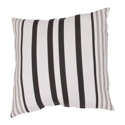 Jaipur Rugs - Jaipur Hugo Indoor/Outdoor Pillow - 20 x 20 in. - PLW101775 - Shop for Cushions and Pads from Hayneedle.com! Handsome stripes in sophisticated color options the Jaipur Hugo Indoor/Outdoor Pillow - 20 x 20 in. is a smart way to change the look of your outdoor living space. Mix and match this striped pillow with other coordinating colors and patterns for style that never disappoints. About JaipurJaipur features a team of over 30 designers and 40 000 skilled rug and home goods makers all of whom carry out the company's original dream of making high-quality outstanding rugs and home products based on ancient traditions.
