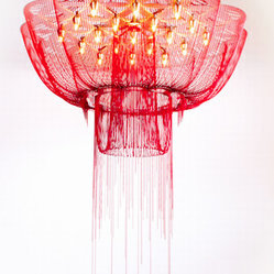 Flower of Life Chandelier