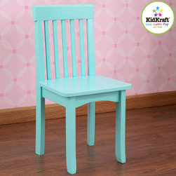KidKraft - Avalon Chair in Ice Blue - Avalon Chair in Ice Blue