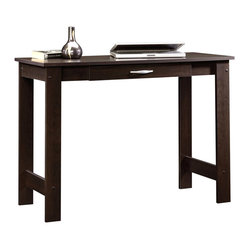 Sauder - Sauder Beginnings Writing Table in Cinnamon Cherry Finish - Sauder - Writing Desks - 412885 -