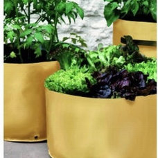Contemporary Outdoor Pots And Planters Small Spaces Vegetable Planters
