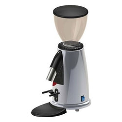 "Macap - Macap Doserless Stepped Manual Chrome Espresso Grinder - Stepped grinding regulation. Height-adjustable filterholder. Power: 150 wattsFlat grinding blade diameter: 50mm / 1.97""Measurements: 250 x 152 x h 382mm / 9.84 x 5.99 x 15.03 "". Coffee beans hopper capacity: 250 grams / 8.81-ounces. Ground coffee doser capacity: 180 grams / 6.35-ounces. Voltage: 110 volts, 60 hertz. Net weight: 4.7 kg / 10 lbs. . Made in Italy.."