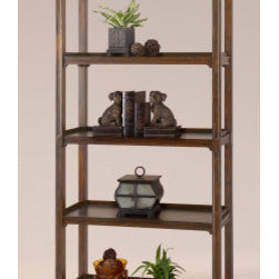 "24126 Brearly, Etagere by uttermost - Get 10% discount on your first order. Coupon code: ""houzz"". Order today."