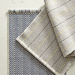Fez Bath Mat - I love the new take on herringbone in these bath mats from West Elm. They remind me a bit of a man's suit, making them a perfect choice to balance femininity in a space.