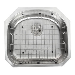 Kraus - Kraus RB-10 Stainless Steel Rinse Basket - The Kraus Rinse basket is the ideal accessory for any kitchen sink