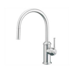 Aquabrass - Aquabrass-9840D Royal Vittoria Pull Down Spry Kitchen Set-ABFK9840DBSS - Brushed Stainless Finish