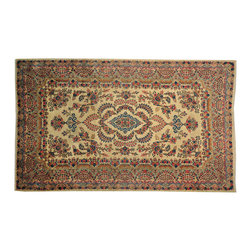 Oversize 10'x16' Antique Persian Kerman Exc Cond Hand Knotted Rug SH16585 - Oriental rugs are famously known to gain more value over time. An authentic Antique hand knotted rug is not only an instant centerpiece in any setting, but is a wonderful investment which only increases over the years. This collection features rare and valuable authentic hand-knotted area rugs from all over the world at exclusive discount prices.