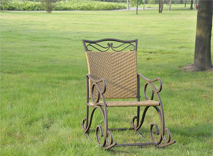 Traditional Outdoor Rocking Chairs by outdoorgardenfurniture.net