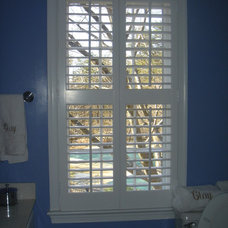 Tropical Window Treatments by The Louver Shop