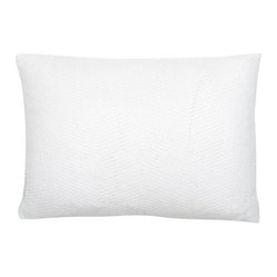 Sasha Pillow, Set of 2, White