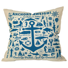 Beach Style Decorative Pillows by DENY Designs
