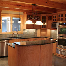 Traditional Kitchen by Summit Custom Homes