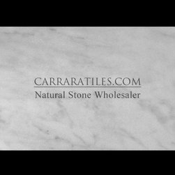"Carrara Marble Italian White Bianco Carrera 3/4"" Marble Slab Honed - Bianco Carrara 3/4"" Marble Slab also known as White Carrera 3/4"" Marble Slab. Premium grade 3/4"" Marble Slab perfect for both residential and commercial projects. 3/4"" Marble Slab mainly preffered as countertops for its clean, aesthetic qualities. A large selection of coordinating products are available and includes Carrara basketweave mosaics, Carrara herringbone mosaics, Carrara hexagon mosaics, 3x6 marble subway tiles, 4x4 Carrara marble tiles, 6x6 Carrara marble tiles, 18x18 Carrara marble tiles, Carrara borders, Carrara moldings and Carrara baseboards, available in honed and polished finishes."