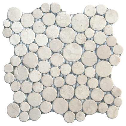 Contemporary Mosaic Tile by Pebble Tile Shop