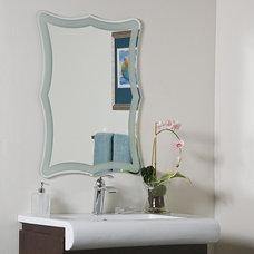 Contemporary Bathroom Mirrors by Overstock.com