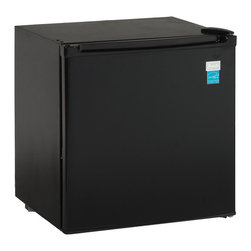 Avanti - Avanti 1.7-cubic foot Black Refrigerator - Get all functionality and features you would expect from a premium refrigerator without taking up the space with this compact Avanti refrigerator. This 1.7 cubic foot fridge features full range temperature control for maximum control.