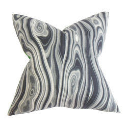 The Pillow Collection - Zoia Geometric Pillow Gray - We've come up with an exciting design for a decor pillow. This accent piece features a combination of various shapes and mixed it with shades of gray and white. The effect creates a vibrant and eccentric look to the throw pillow. Enhance your living room or bedroom with this artsy home accessory. Constructed with 100% soft and cushy cotton material. Hidden zipper closure for easy cover removal.  Knife edge finish on all four sides.  Reversible pillow with the same fabric on the back side.  Spot cleaning suggested.