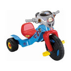 Fisher-Price - Fisher-Price Thomas the Train Big Wheel Riding Toy - W6138 - Shop for Tricycles and Riding Toys from Hayneedle.com! Give railfans their first wheels with the Fisher-Price Thomas the Train Lights & Sounds Trike. The flashing lights and sounds create excitement anywhere he goes; the walkie-talkie plays back recorded messages from Thomas & Friends characters. The wide base handlebar grips and slip-resistant pedals make this ride safe and easy to use.