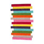 Nu Loom - Kids Cine 5'x8' Rectangle Multi Color Area Rug - The Cine area rug Collection offers an affordable assortment of Kids stylings. Cine features a blend of natural Multi Color color. Hand Tufted of 100% Polyester the Cine Collection is an intriguing compliment to any decor.