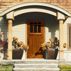 traditional front doors by GlassCraft Door Company