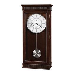 Howard Miller - Howard Miller Triple Chime Espresso Pendulum Wall Clock | Kristyn Wall - 625471 Kristyn Wall