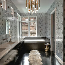 Modern Bathroom by Glynis Wood Interiors